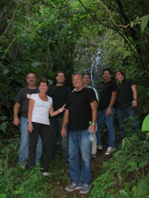 Jack (center - front) on a recent mission trip to Honduras.