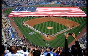 Opening Ceremony (photo - LA Times)
